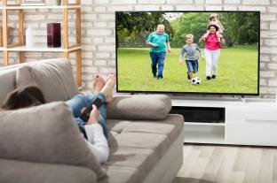 Sledování televize a zrak